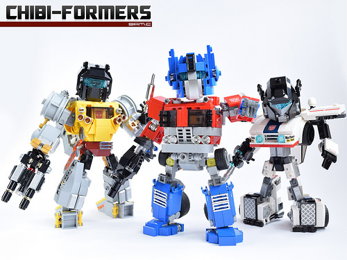 Lego Transformers Chibi-Formers