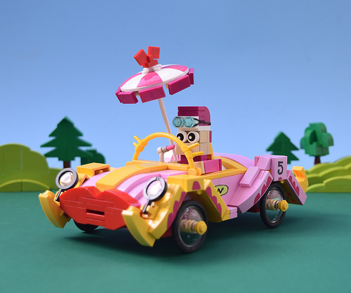 Lego Wacky Races Compact Pussycat