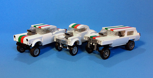 Lego Octan Gasser Hot Rods