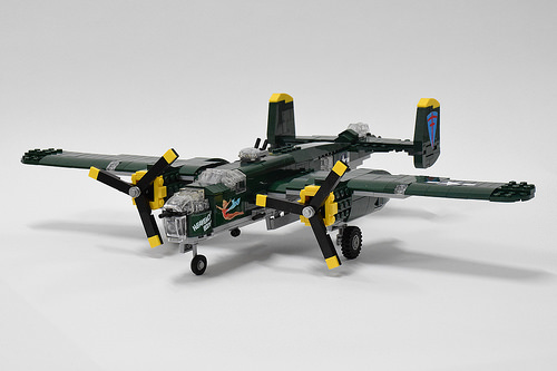 Lego B25 Mitchell Bomber