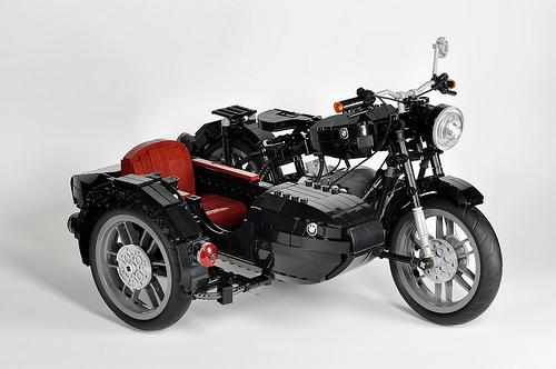 lego technic bmw r60 sidecar the lego car blog. Black Bedroom Furniture Sets. Home Design Ideas