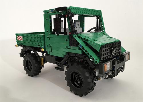 Lego Technic Unimog U90 Remote Control