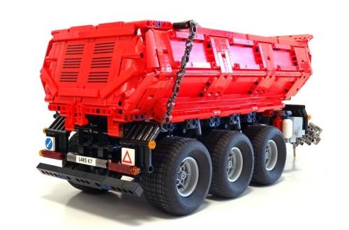 Lego Remote Control Tractor Trailer