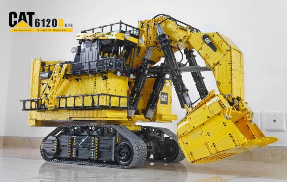 Lego Technic CAT 6120B Hfs Mining Shovel
