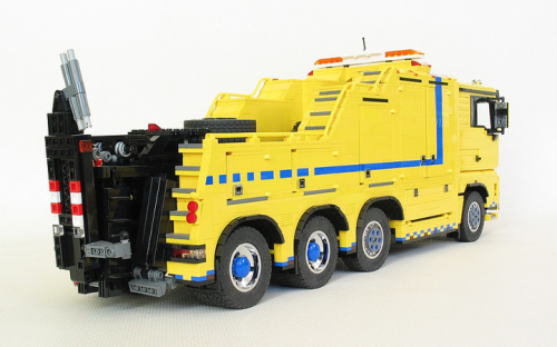 Lego MAN Heavy Duty Wrecker