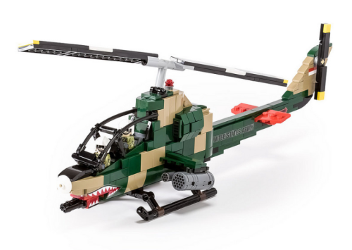 Lego Bell AH-1G Cobra Helicopter