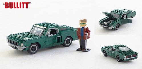 Lego Bullitt Ford Mustang