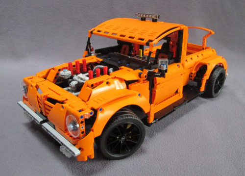 Lego Technic 42056 B-Model Hot Rod