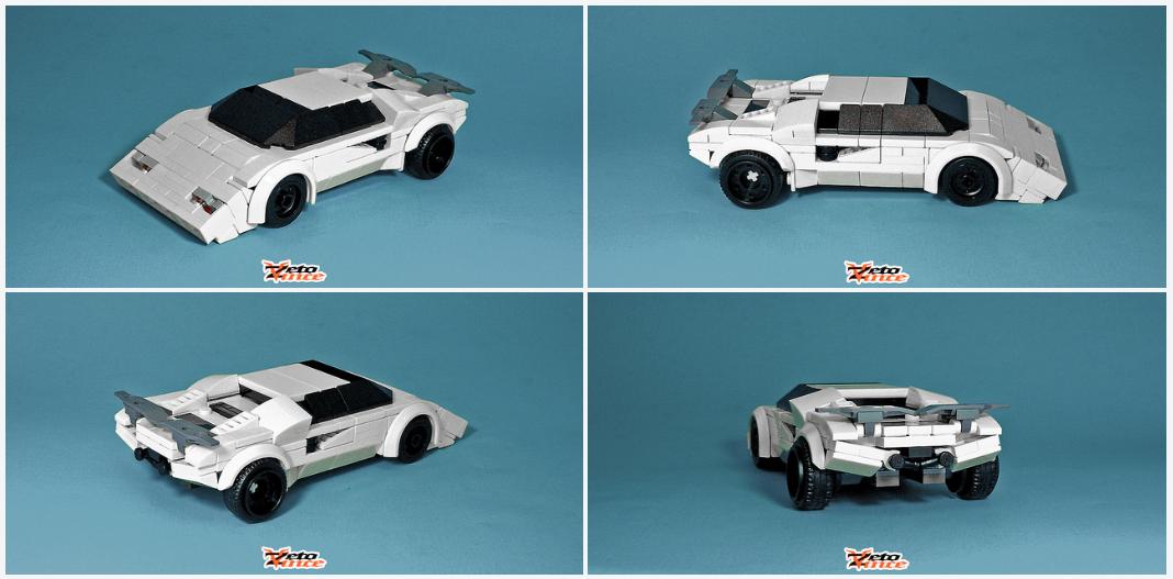 Little Lego Lamborghini The Lego Car Blog