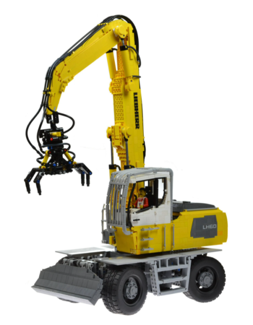 Lego Liebherr LH60 Timber