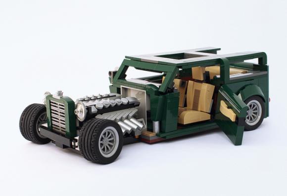 Lego Hot Rod 10242 Alternate