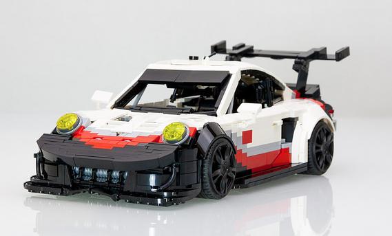 porsche 911 rsr picture special the lego car blog. Black Bedroom Furniture Sets. Home Design Ideas