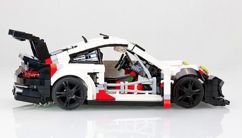 porsche 911 rsr picture special the lego car blog. Black Bedroom Furniture Sets. Home Design Ideas