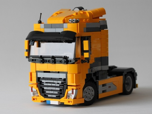 Lego DAF XF Euro 6 FT Space Cab