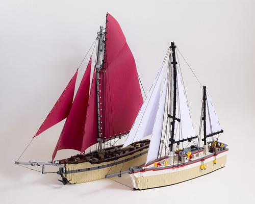 Lego Yachts
