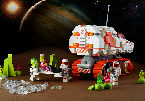 Lego Space Ambulance