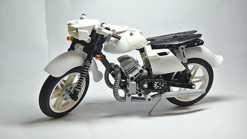 Lego Technic Jawa 350 Motorcycle