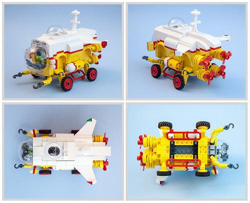 Lego Submarover