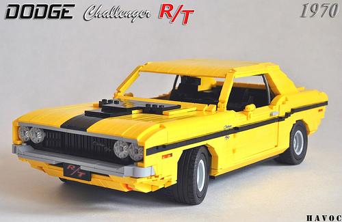 Lego dodge challenger