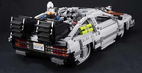 Lego Back to the Future Part III Delorean Time Machine
