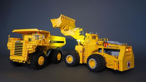 Lego Euclid R-170 Remote Control Mining Truck