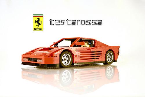 Lego Ferrari Testarossa