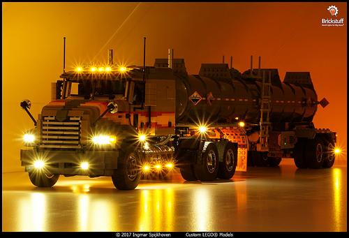 Lego Tanker Truck