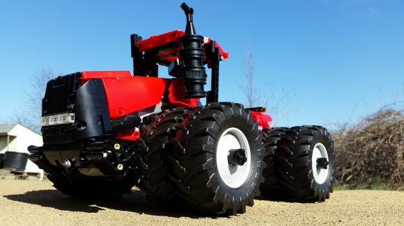 Lego Technic Case 620 HD Tractor