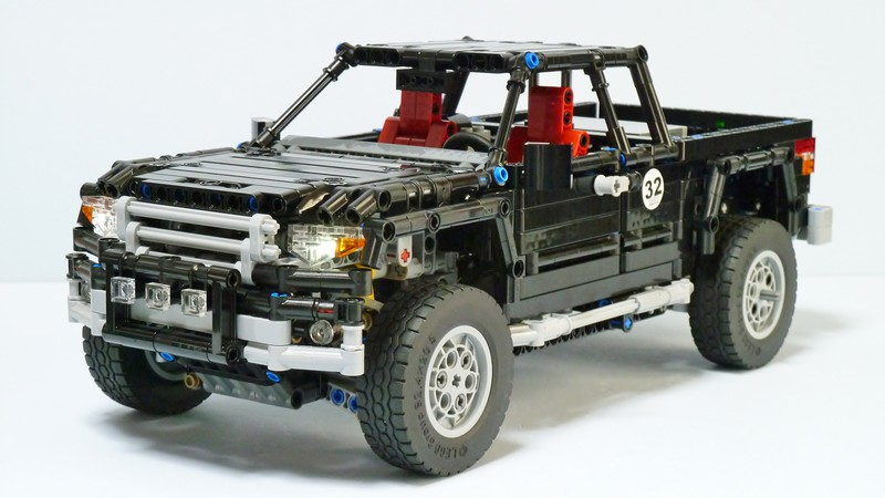 technic tacoma the lego car blog. Black Bedroom Furniture Sets. Home Design Ideas