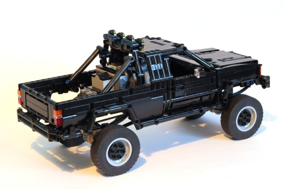 Lego Toyota 4x4 Pick-Up BTTF
