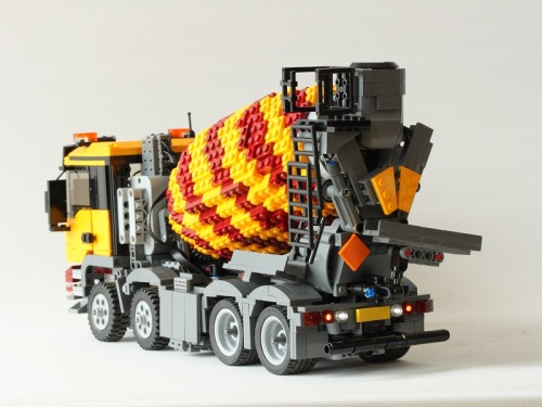 Lego MAN TGS Cement Truck