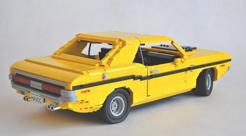 Lego Dodge Challenger R/T