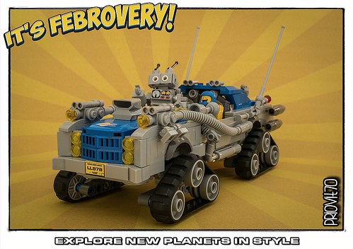 Lego Hot Rod Lunar Rover