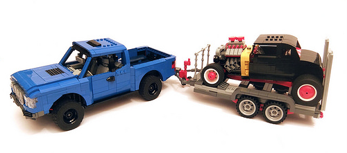 Lego 75875 Ford F150 Hot Rod Supersize