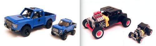 Lego 75875 Ford F150 Hot Rod Supersize