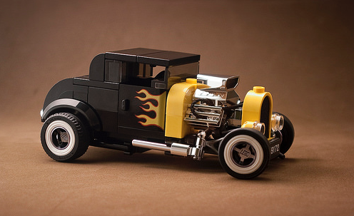 Lego 75875 Hot Rod Redux