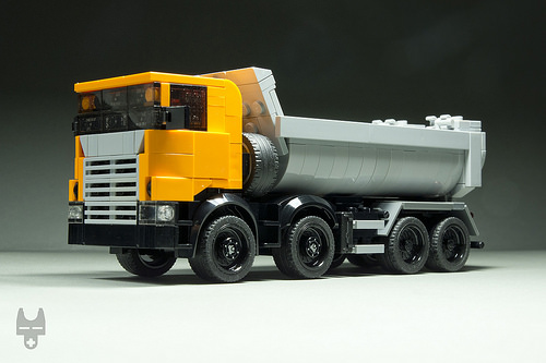Lego Scania 8x4 Tipper Truck