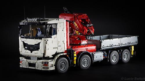 Lego Technic Pneumatic Crane Truck