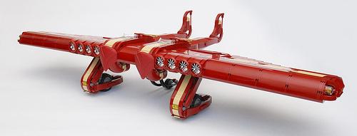 Lego Sky-Fi Aircraft