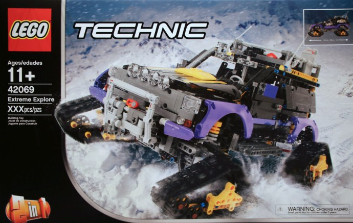 lego technic 42069 extreme explorer the lego car blog. Black Bedroom Furniture Sets. Home Design Ideas
