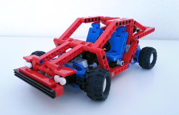 lego technic 8865 mini the lego car blog. Black Bedroom Furniture Sets. Home Design Ideas
