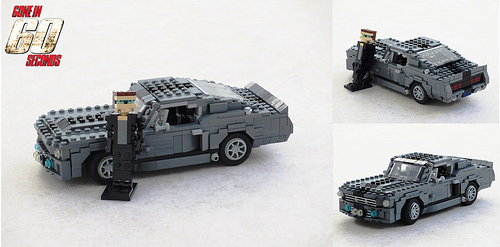 Lego Ford Mustang GT500 Eleanor