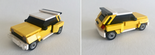 Lego Renault 5 Turbo Group B
