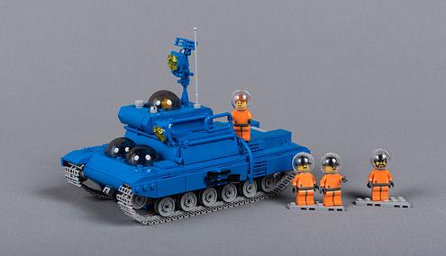 Lego Tintin Moon Tank