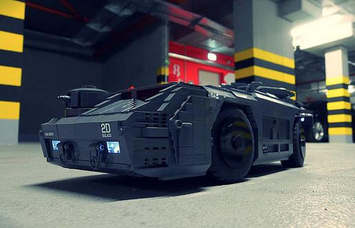 Lego Aliens APC