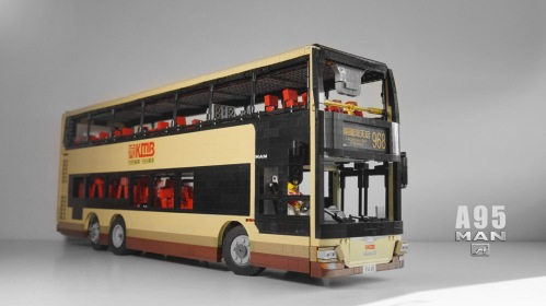 Lego MAN A95 Bus RC