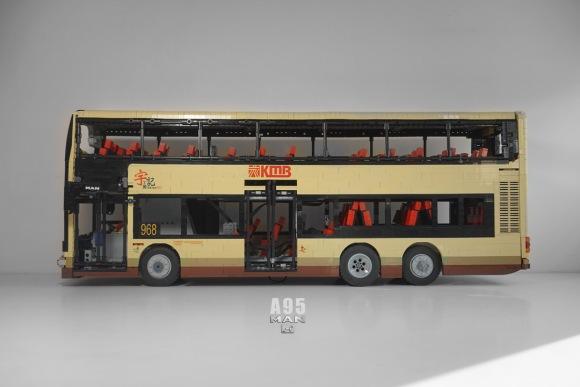 Lego MAN A95 Double Decker Bus RC