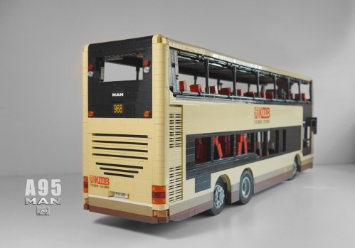 Lego MAN A95 Double Decker Bus Remote Control
