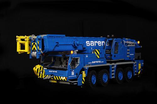 Lego Liebherr LTM Crane RC