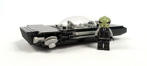Lego Chrysler Hovercar